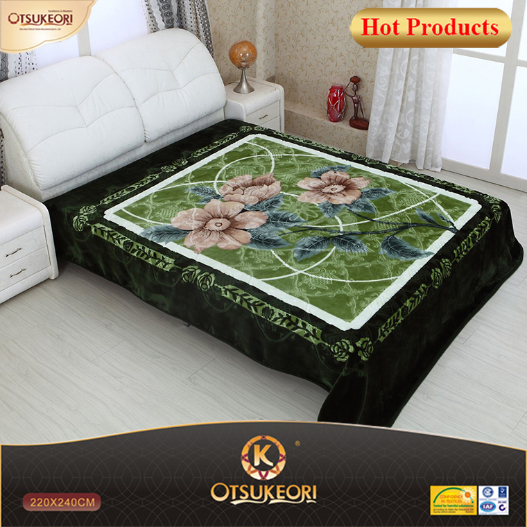 Polyester blanket knitted duvet cover sets with famous brands OTSUKEORI.