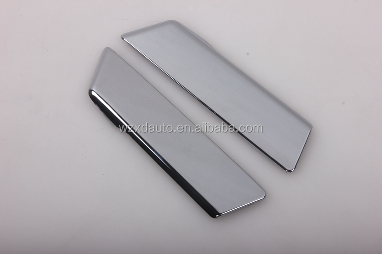 Chrome Rear Door Handle Cover Trim for CHR C-HR 2017 Scuff Plate Guard