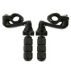 "1 1/4"" 32mm Engine Guard Male Mounts Highway Pegs Footpegs For Motorcycle Harley"