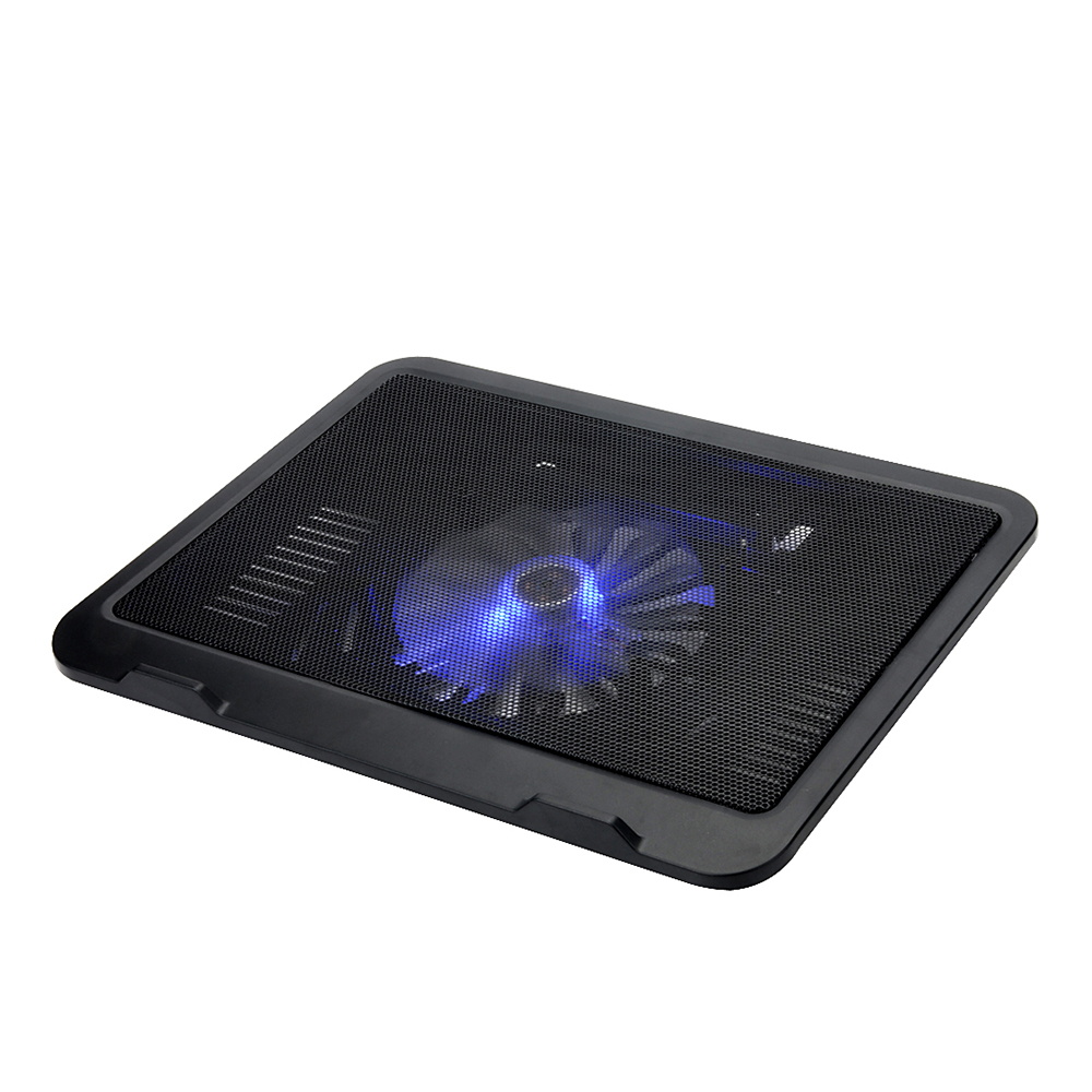Een 14 cm grote LED licht fan mini usb notebook cooler