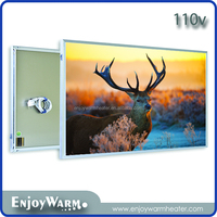 360W/600W/720W/960W/1200W CE ROHS health care 110v infrared heating panel wall mounted electric heater