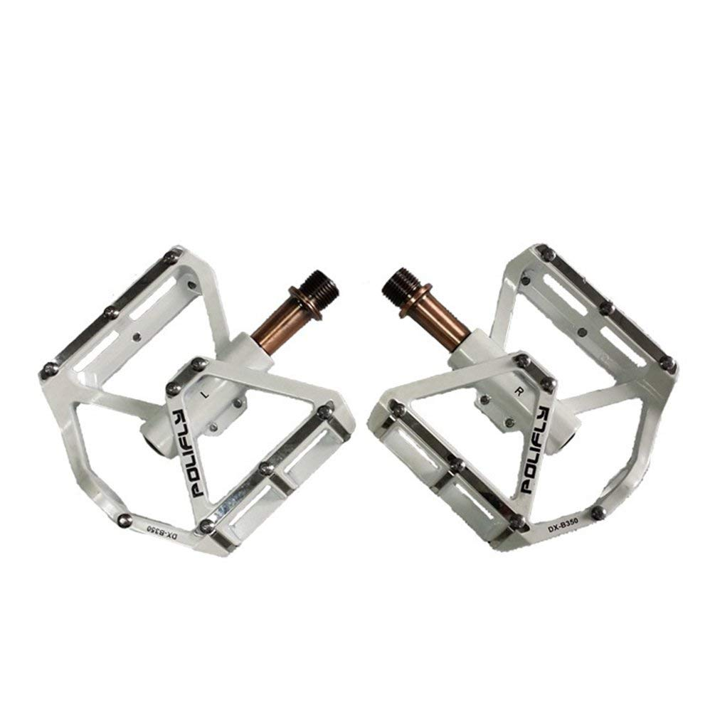 WindGoal Aluminium Alloy Bearing Bike Pedals,BMX MTB Mountain Cycling Pedals Bicycle Pedals,1 Pair Universal 9/16""