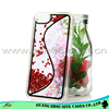 New Alibaba express tpu pc blank phone case for iphone 5 glitter heart shape cases