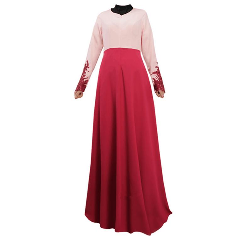 Elegante dame türkisch arabisch kleidung für muslimischen ...