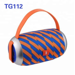 2018 Hot sale TG112 fashion Portable Wireless Mini Bluetooths Speaker Super Bass Boombox Sound box with Mic TF/Handsfree Call
