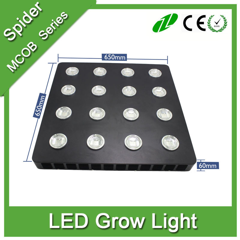 2016 best selling 90 w-1440 W UV, IR, volledige spectrum COB LED kweeklampen