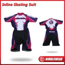 2012 NIMBLEWEAR Custom Sublimated Short Sleeve Inline Skating Suit