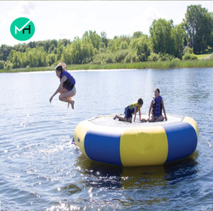 3m diameter inflatable water trampoline for sale