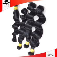 BS guangzhou BS genuine raw brazilian hair extension,noble hair extensions
