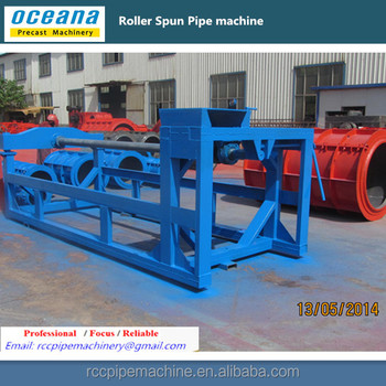 Reinforced Roller Suspension Concrete Pipe Making Machine for Storm water pipe