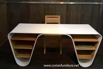 new designer solid surface corian office desk office table buy