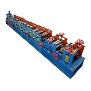 selling well all over the world chinese steel sheet decoiler purlin roll frame forming building machine
