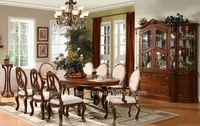 oak wood dinning sets