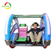 2018 new arrival outdoor amusement kids ride games Happy car/ leswing car swing ride