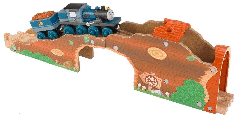 Fisher-Price Thomas the Train Wooden Railway Log Tunnel