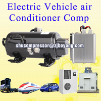 low voltage dc air conditioner compressor for truck cab mining construction machine crane grab ev rv electric cars vehicle heavy