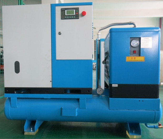 50hp Rotary screw Complete air compressor unit