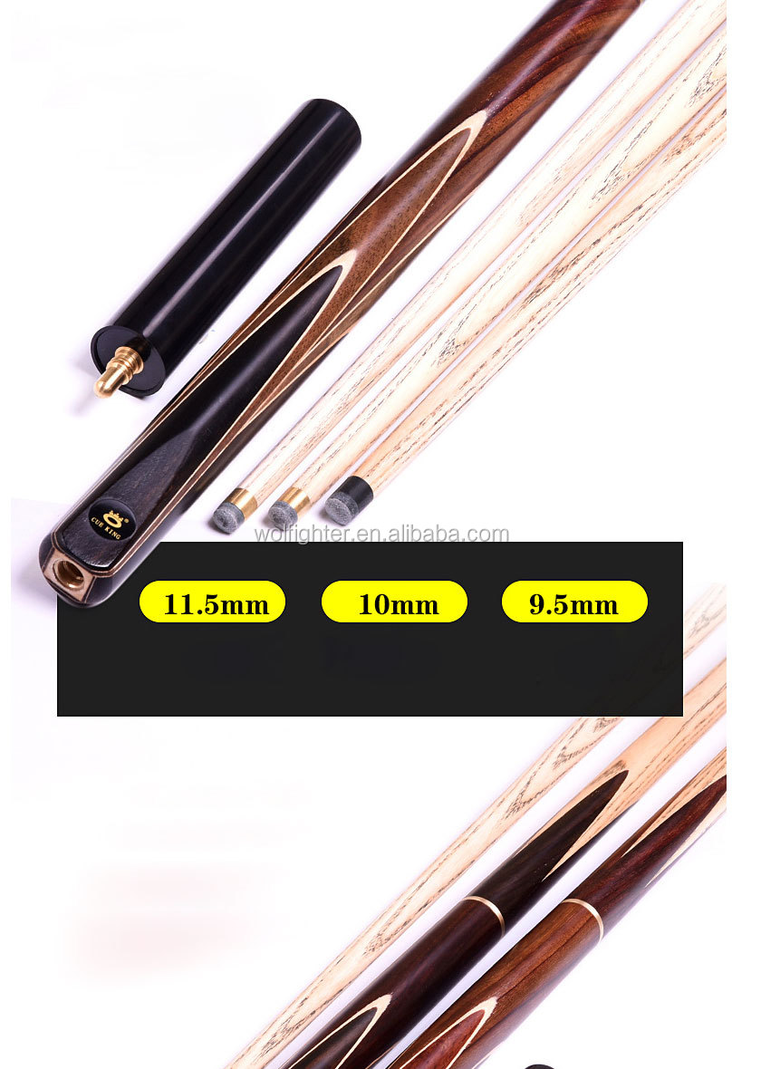 OMIN Hand made CUE 3/4 Snooker CUE 9 มม.9.5 มม.10 มม.11.5 มม.