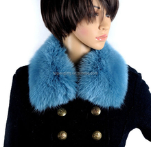 Top quality fur accessory Fake/Faux Fur Collar for coat from factory