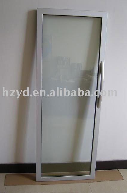 Luxury Aluminum Frame Gl Door For Showcase Hollow Freezer Wine Cabinet With