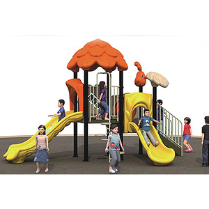 small outdoor slide playground slide play sets summer outdoor playground equipment HFA106-2