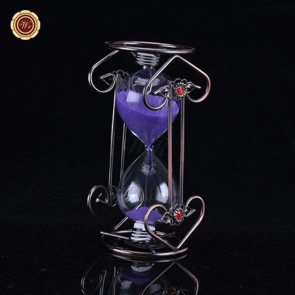 2018 Hourglass Wholesale 4 Hours Hourglass Sand Timer Unique Wood Best Promotional Gift Wedding Favors Hourglass