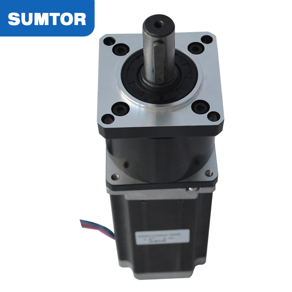 112mm 3a 8mm Shaft Type D 5 1 Planetary Gearbox Nema 23 Stepper Motor