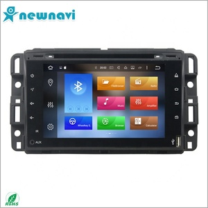 High quality full touch screen Car stereo android 8.0 car DVD player with gps for GMC Yukon/Tahoe 2007--2012