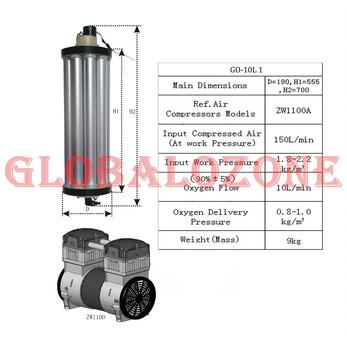 Lithium/zeolite Material Oxygen Production Plant For Industrial Purpose -  Buy Oxygen Regulator,Hydrogen Generator Price,Oxygen Regulator Product on