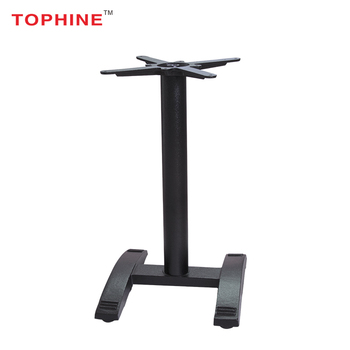 Commercial Contract TOPHINE Cast Iron Restaurant Pedestal Metal Coffee Dining Table Bases