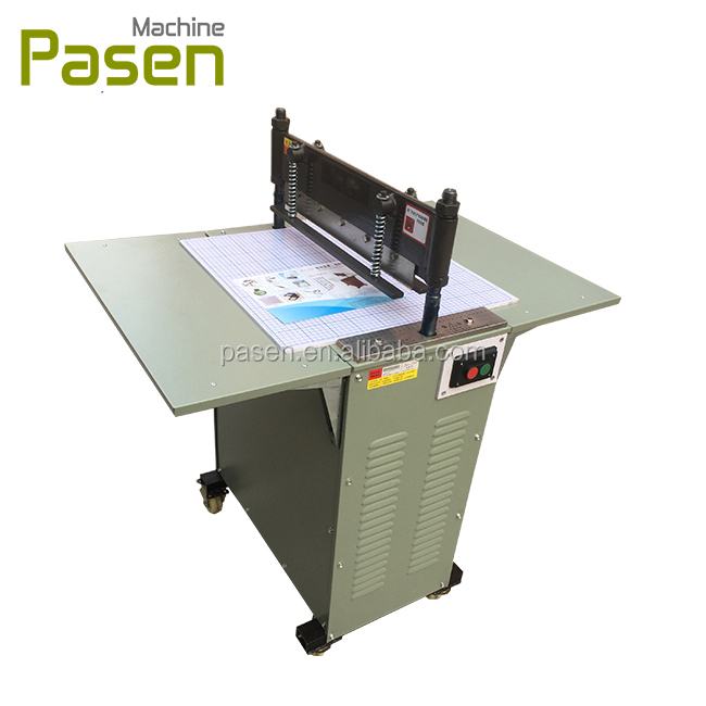 Textile sample cutting machine / Zigzag cutter / Fabric swatch cutter