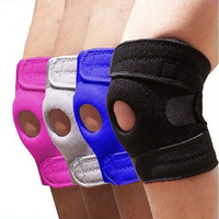 Top quality fashion design flexible volleyball weightlifting knee wraps support with OEM service