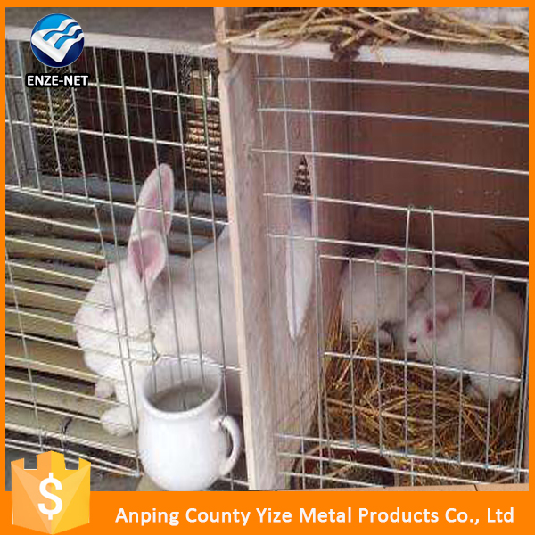 Hot sale cheap small folded rabbit cage /Metal Rabbit Cage For Sale (Factory)