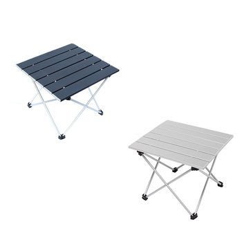 KY20113 Amason Top Selling Foldable Picnic Table Set Portable Lightweight Aluminium Folding Camping Table With Cup Holder