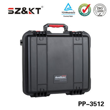 Factory Plastic Waterproof Tool Carrying Rugged Equipment Case