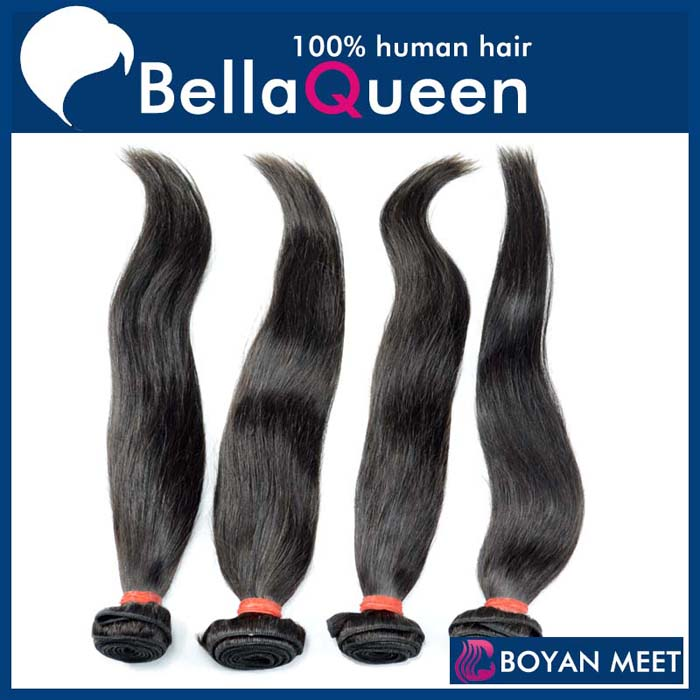 bellaQueen brazilian Natural texture soft and smooth hair weave in bulk