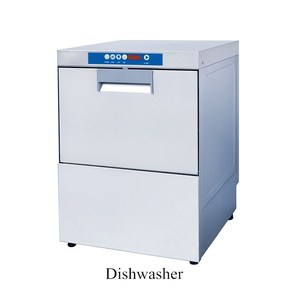 Professional Restaurant Countertop Glass And Dish Washer