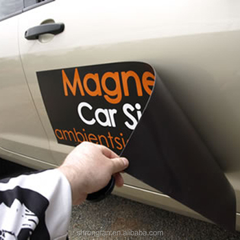 Removable Customized Design Car Door Magnet Sticker Printing Buy