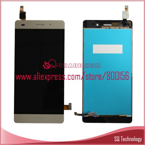 Mobile Phone for Huawei P8 Lite <strong>LCD</strong> and Touch Screen Assembly white