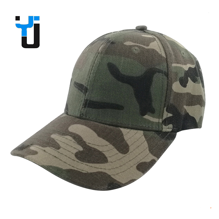 Casual Camo Design or Customized Military Camo Baseball Cap