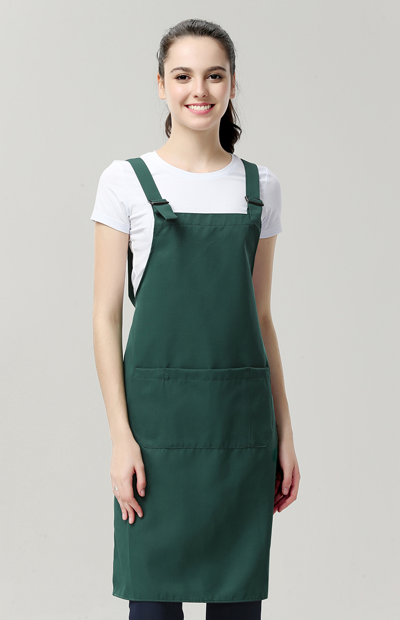 New Design sublimation green apron custom print,salon work apron for men,wholesale black durable barber apron with custom logo