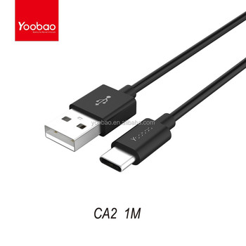 YOOBAO USB Type-C to USB 2.0 standard-A cable for New Macbook 10Gbps Sync Cable