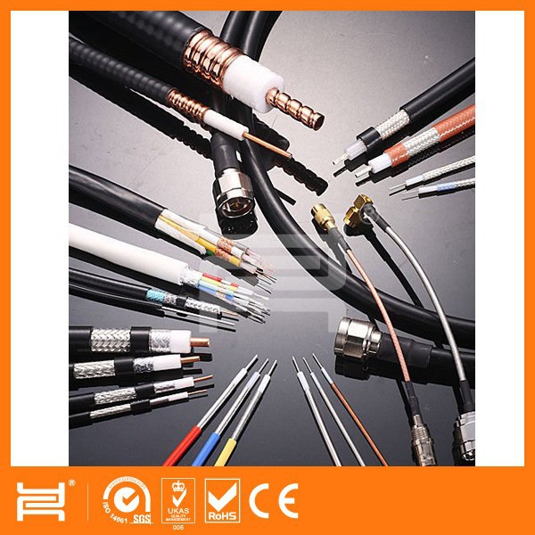 Factory Cable RG-59/U Type CCTV / Video Cable F-RG59/U Shield 95%