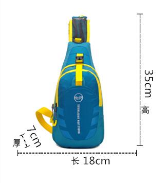En gros unisexe pliable gym poitrine sling sac à dos sacs à bandoulière sac à bandoulière