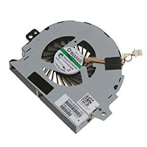 Power4Laptops Independent Graphics Version Replacement Laptop Fan with Heatsink for Intel Processors for HP HDX X18-1050EF HP HDX X18-1080 HP HDX X18-1050ER HP HDX X18-1070EE HP HDX X18-1058CA