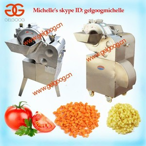 Vegetable Tuber Cube Cutting Machine, commercial vegetable dicer