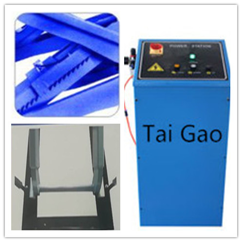 Tai Gao 3T portable mid rise scissor car lift used home garage auto lift