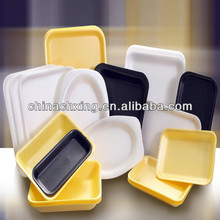 disposable polystyrene food foam trays for sale