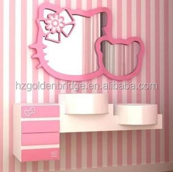 Hello Kitty Opbergkast.Hello Kitty Pvc Kast Voor Badkamermeubel Qi 2100 Buy Cosmetische