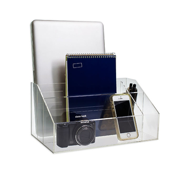 clear acrylic desktop organizer office desk organizers - buy clear